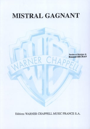 RENAUD - Mistral Gagnant - Sheet Music - di-arezzo.co.uk