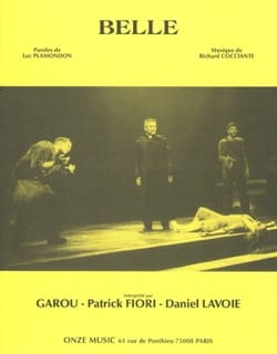 Richard Cocciante & Luc Plamondon - Belle - Musica del musical Notre Dame de Paris - Partitura - di-arezzo.it