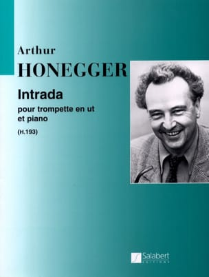 Intrada Arthur Honegger Partition Trompette - laflutedepan