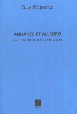 Andante et Allegro version ut ou fa Joseph-Guy Ropartz laflutedepan