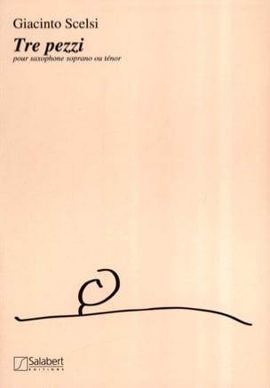 Giacinto Scelsi - Tre Pezzi - Sheet Music - di-arezzo.co.uk