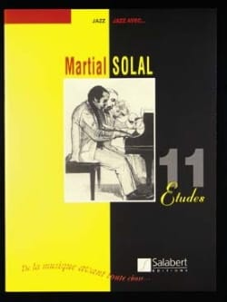 Martial Solal - 11 Studies - Sheet Music - di-arezzo.co.uk
