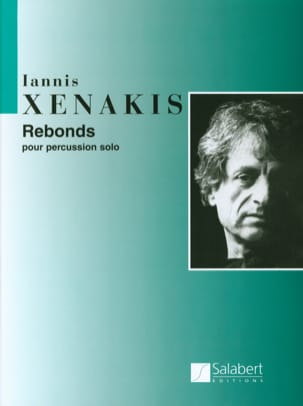 Rebonds XENAKIS Partition Multi Percussions - laflutedepan