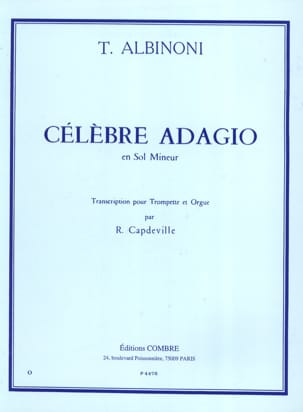 Tomaso Albinoni - Famous Adagio In Miner Minor - Sheet Music - di-arezzo.com