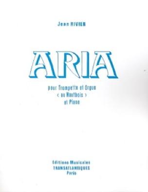 Aria - Jean Rivier - Partition - Saxophone - laflutedepan.com