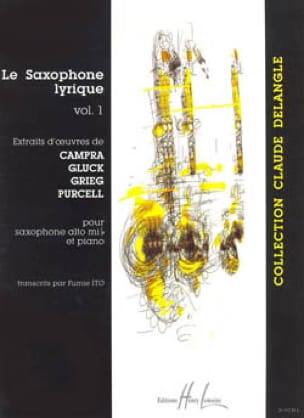 Le Saxophone Lyrique Volume 1 Partition Saxophone - laflutedepan