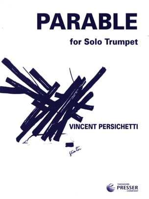 Parable 14 opus 127 Vincent Persichetti Partition laflutedepan