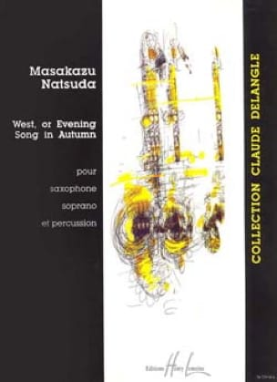 Masakazu Natsuda - West, or Evening Song In Autumn - Partition - di-arezzo.fr