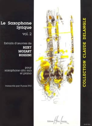 Le Saxophone Lyrique Volume 2 Partition Saxophone - laflutedepan