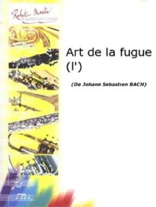 L'art de la Fugue - BACH - Partition - Saxophone - laflutedepan.com