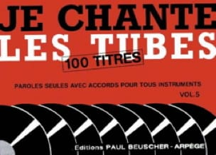 - I sing the tubes volume 5 - 100 Titles - Sheet Music - di-arezzo.co.uk