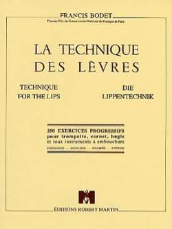 Francis Bodet - The Lip Technique - Sheet Music - di-arezzo.co.uk