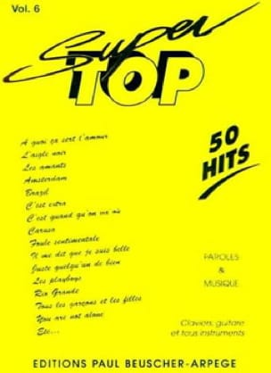 Super top volume 6 - 50 Hits - Partition - di-arezzo.fr