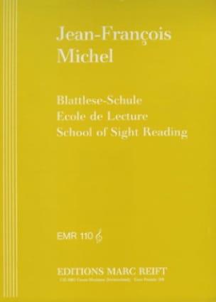 Jean-François Michel - Ecole de lecture - Clé de Sol - Partition - di-arezzo.fr