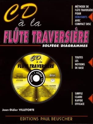 Jean-Didier Villetorte - CD Flute Flute - Sheet Music - di-arezzo.co.uk