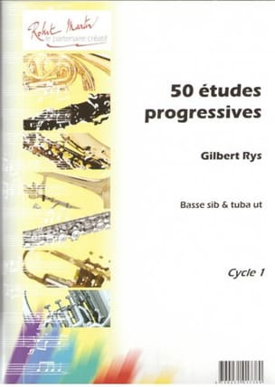 Gilbert Rys - 50 Etudes Progressives - Partition - di-arezzo.fr