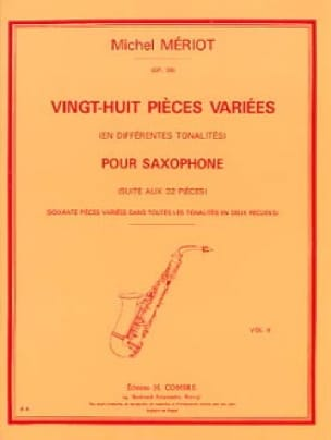 Michel Mériot - 28 Various pieces Volume 2 - Sheet Music - di-arezzo.co.uk