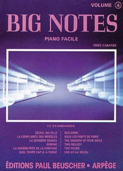 Mike Carandi - Big Notes Volume 4 - Sheet Music - di-arezzo.co.uk