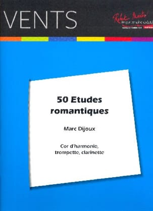 Marc Dijoux - 50 Romantic Studies - Sheet Music - di-arezzo.co.uk