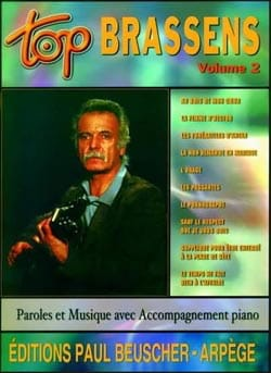Top Brassens Volume 2 Georges Brassens Partition laflutedepan