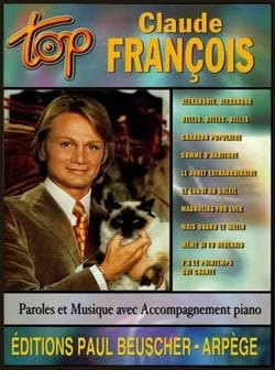 Claude François - Top Claude François - Sheet Music - di-arezzo.co.uk