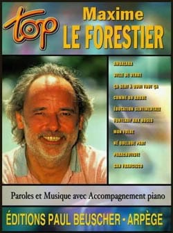 Forestier Maxime Le - Top Maxime the Forestier - Partitura - di-arezzo.es