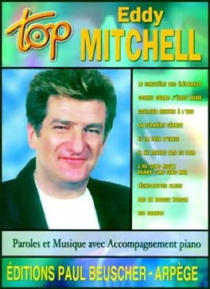 Eddy Mitchell - Top Eddy Mitchell - Sheet Music - di-arezzo.co.uk