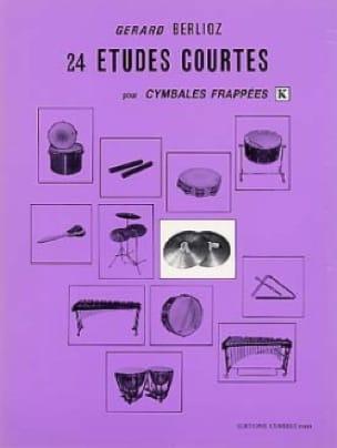 24 Etudes Courtes Volume K BERLIOZ Partition Batterie - laflutedepan