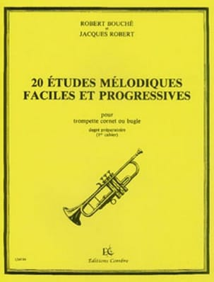 Bouché Robert / Robert Jacques - 20 Easy and Progressive Melodic Studies - Partition - di-arezzo.co.uk