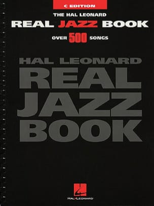 - The Hal Leonard Real Jazz Book - Over 500 Songs - Partition - di-arezzo.fr