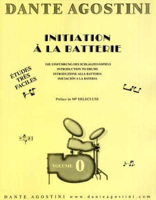 Dante Agostini - Battery method volume 0 - Sheet Music - di-arezzo.co.uk