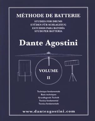 Méthode de batterie volume 2 - Dante Agostini - laflutedepan.com