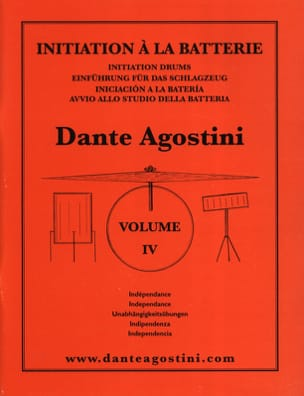 Dante Agostini - Battery Method Volume 4 - Partitura - di-arezzo.it