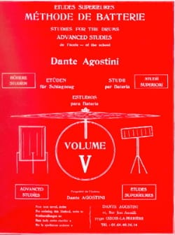 Dante Agostini - Battery method volume 5 - Sheet Music - di-arezzo.co.uk