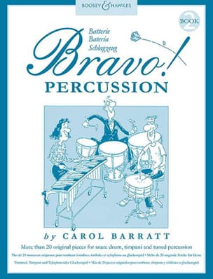 Bravo Percussion Volume 2 Carol Barratt Partition laflutedepan