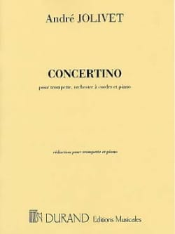 André Jolivet - Concertino - Partition - di-arezzo.fr