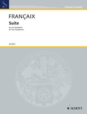 Jean Françaix - Suite - Partition - di-arezzo.fr