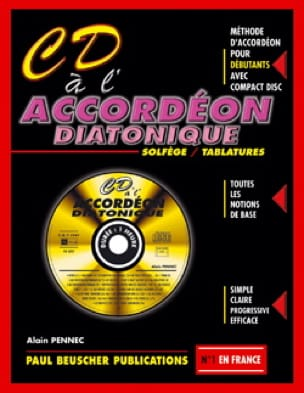 CD à l'accordéon diatonique Alain Pennec Partition laflutedepan