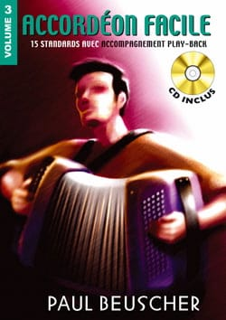 Accordéon Facile Volume 3 - Partition - laflutedepan.com