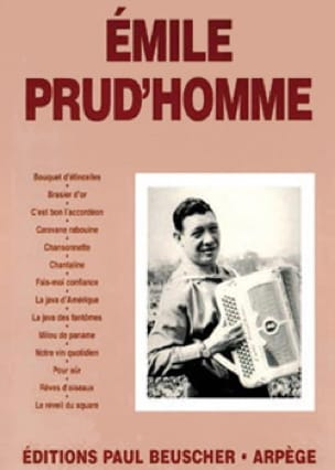 Emile Prud'homme - Emile Prud'homme - Partition - di-arezzo.fr