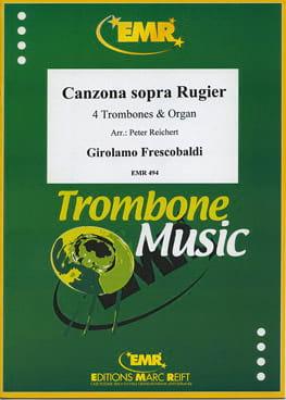 Girolamo Frescobaldi - Canzona sopra Rugier (1634) - Partition - di-arezzo.fr