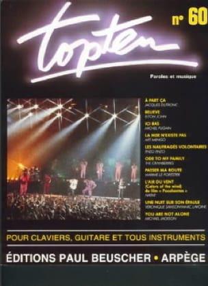 Topten 60 - Partition - Chansons françaises - laflutedepan.com
