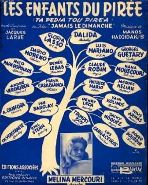 Manos Hadjidakis - Children of Piraeus Film Never on Sunday - Sheet Music - di-arezzo.co.uk