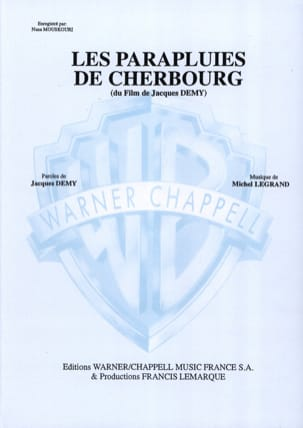 Michel Legrand - Umbrellas of Cherbourg - Partition - di-arezzo.com