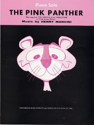 Henry Mancini - La pantera rosa - Partition - di-arezzo.it