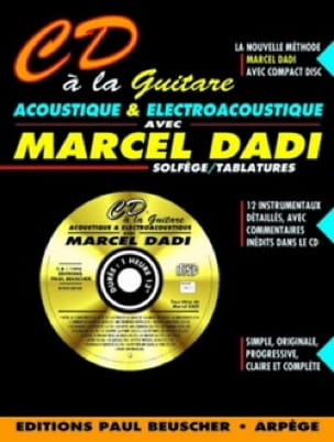 Marcel Dadi - CD with Acoustic and Electroacoustic Guitar - Sheet Music - di-arezzo.co.uk
