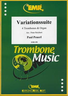 Variations suite - Paul Peuerl - Partition - laflutedepan.com