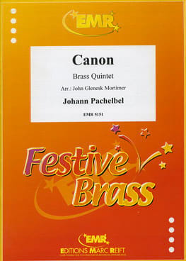 Canon - PACHELBEL - Partition - Ensemble de cuivres - laflutedepan.com