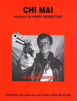 Ennio Morricone - Chi Mai Movie Professional - Sheet Music - di-arezzo.com