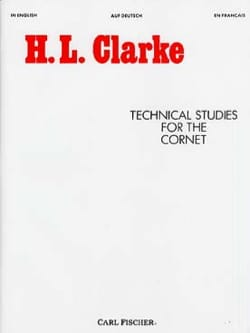Technical studies for the cornet Clarke Partition laflutedepan